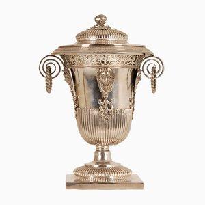 Französische 1. Empire Napoleonische Zucker Vase aus Sterlingsilber, 18. Jh