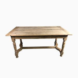 Monastery Spacer Table in Raw Oak, 1940s