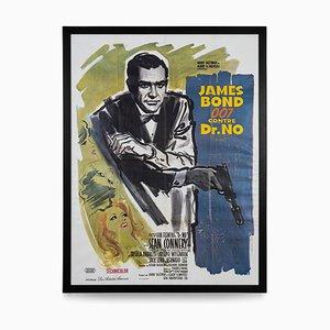 Affiche James Bond 007 Dr. No Grande, France, 1962