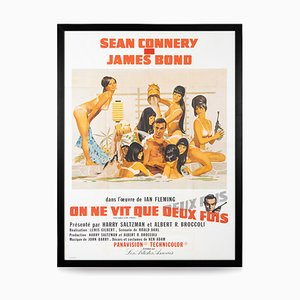 Französisches James Bond 007 You Live Live Twice Release Poster, 1967