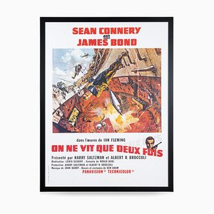 Französisches James Bond 007 You Only Live Twice Re-Release Poster, 1980