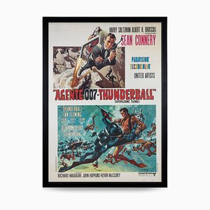 Italienisches James Bond Thunderball Re-Release Poster, 1971