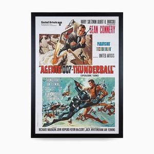 Poster di James Bond Thunderball, Italia, 1971
