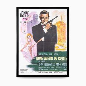Französisches James Bond 007 aus Russland mit Love Release Poster, 1963