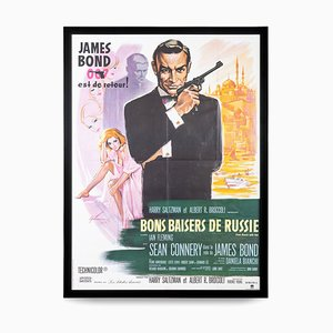 Poster di James Bond 007 from Russia with Love, 1963