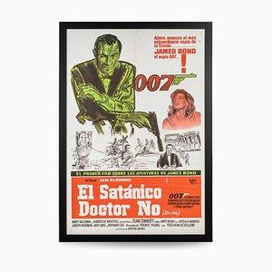 Argentinisches James Bond 007 Dr. No Release Poster, 1962