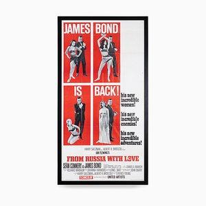 Amerikanischer James Bond aus Russland mit Love Release Poster, 1963
