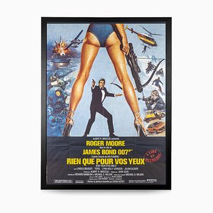 Französisches James Bond For Your Eyes Only Release Poster, 1983