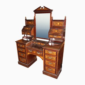 Mahogany and Rosewood Dressing Table, 1900s