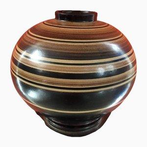 Scandinavian Ceramic Vase by Jerk Werkmaster for Nittsjö, 1930s