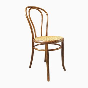 Curved Wooden No. 18 Dining Chair from Fischel, 1940s