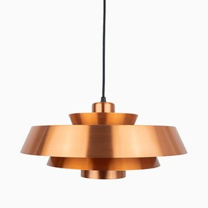 Danish Nova Pendant Lamp by Johannes Hammerborg for Fog & Mørup, 1960s