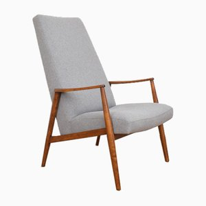 Deutscher Mid-Century Sessel von Hartmunt Lohmeyer, 1960er