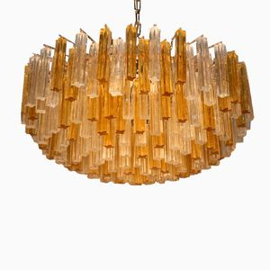Large Italian Chandelier from Venini, 1960s