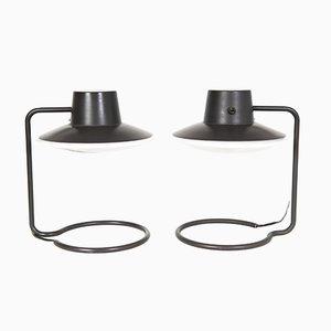 Lampes de Bureau Saint Catherine par Arne Jacobsen pour Louis Poulsen, Set de 2