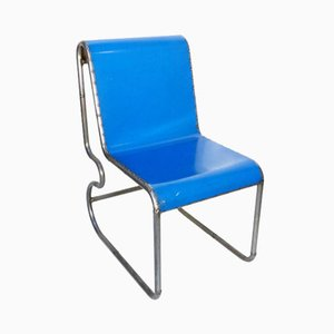Vintage Industrie Stuhl aus Stahl