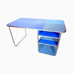 Industrieller Schreibtisch aus Altstahl, 1960er