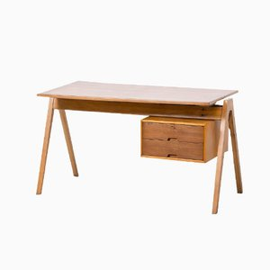 British Hillestak Desk by Robin Day for Hille, 1950s