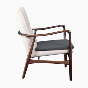 Danish Beech Easy Chair from Madsen & Schubell, 1950s