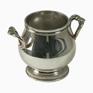 Sugar Pot in Silver Metal from Christofle, France