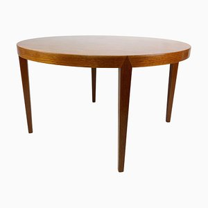 Coffee Table in Teak Designed by Severin Hansen for Haslev Furniture, 1960s