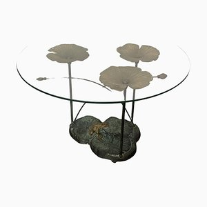French Artisanal Coffee Table, 1970s