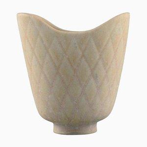 Vase in Glazed Ceramic by Gunnar Nylund for Rörstrand, Mid-20th Century