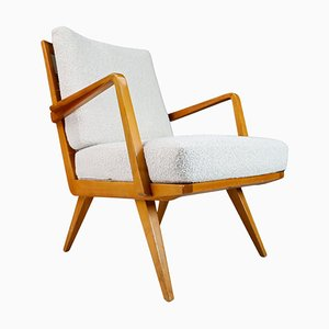Antimott Cherry Armchair by Walter Knoll, Germany, 1950s