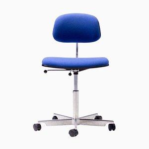 Silla de escritorio Kevi en azul real