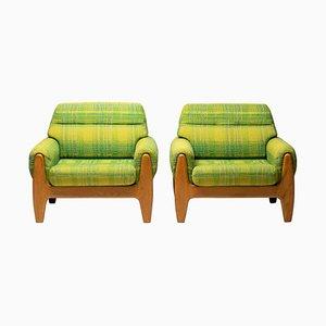 Lounge Chairs by Illum Walklesø, Set of 2