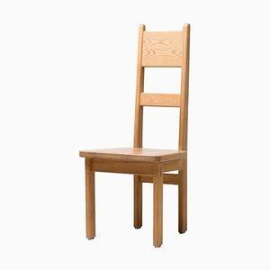Oregon Kiefernholz Stühle mit hoher Rückenlehne von Roland Wilhelmsson, 6er Set