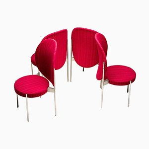 No. 430 High Back Chairs by Verner Panton, Set of 4