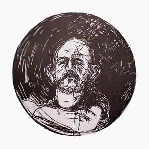 Jim Dine, Untitled, Self-Portrait in a Convex Mirror