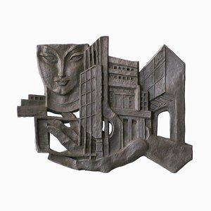 Leon Leyritz, Wall Sculpture, Steel