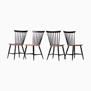Fanett Chairs by Ilmari Tapiovaara, Set of 4