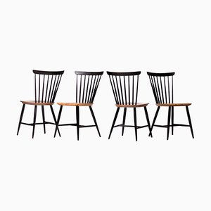Fanett Stühle von Ilmari Tapiovaara, 4er Set