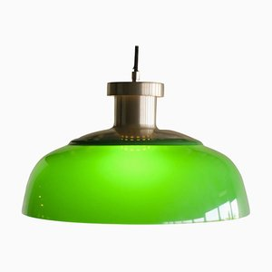 Green 4017 Pendant Lamp by Achille Castiglioni for Kartell