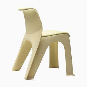 Moss Linen & Plastic Chair, 1974