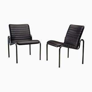 Model 703 Easy Chairs by Kho Liang Ie, Set of 2