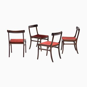 Chairs by Ole Wanscher, Set of 4