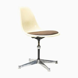 Contract Base Desk Chair by Eames