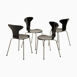 3105 Mosquito Dining Chairs by Arne Jacobsen, Set of 4