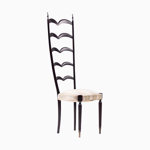 High Back Side Chair by Paolo Buffa