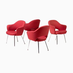 Executive Armchairs by Saarinen for Knoll International, Set of 4