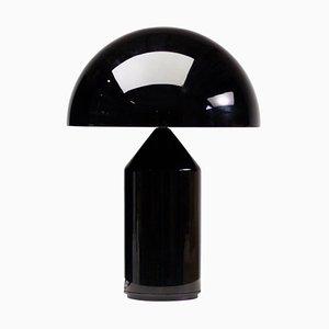 Glass Atollo Table Lamp by Vico Magistretti