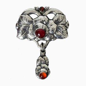 Art Nouveau Brooch by Bernard Hertz