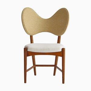 Dänischer moderner skulpturaler Butterfly Chair von Eva & Nils Koppel, 1950er