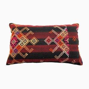Large Turkish Handmade Kilim Cushion Cover