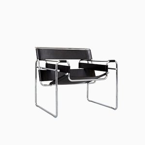 Vintage B3 Wassily Chair by Marcel Breuer for Knoll International