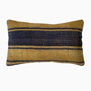 Vintage Meditation Bench Kilim Cushion Cover